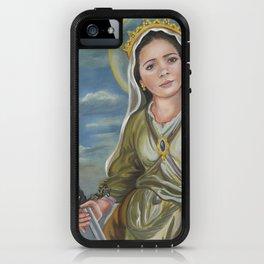 Saint Catherine of Alexandria iPhone Case
