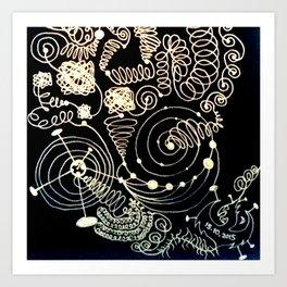 Black Book Series - Endless 01 Art Print