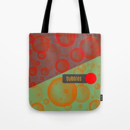 bubbles pillow design Tote Bag