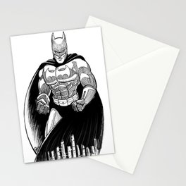 Bat Rumble Stationery Cards