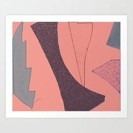 Malibu Pink Art Print