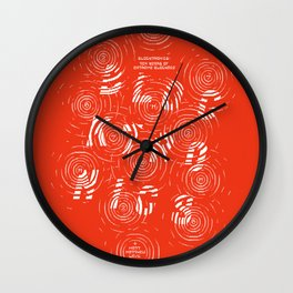 10 Years of Extreme Blockage Wall Clock