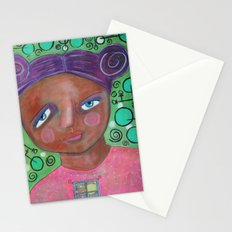 Let the Moonlight In Stationery Cards