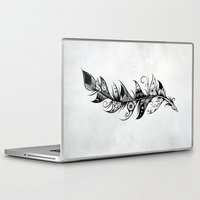 feather Laptop & iPad Skins featuring Feather by LouJah