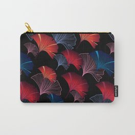 Ginkgo leaves seamless pattern with colorful hand-drawn elements Carry-All Pouch