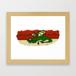 Saint George Mug - Taza Sant Jordi Framed Art Print