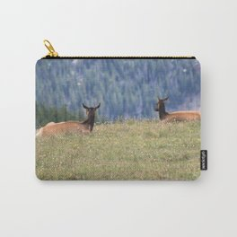Rocky mountain Elk 02 Carry-All Pouch