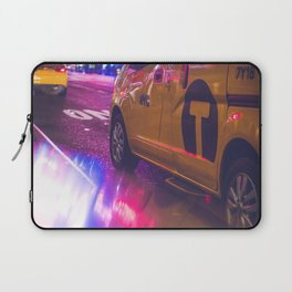 Taxi NYC Life (Color) Laptop Sleeve