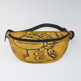 Gold Coin Ape Fanny Pack