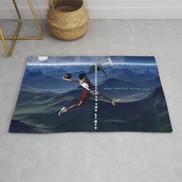 push yourself to the limit Rug