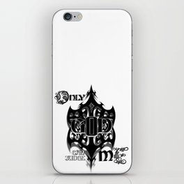 Only God Can Judge Me iPhone Skin
