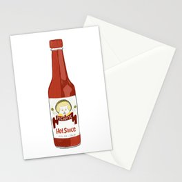 Cat in Hat Picante Hot Sauce Stationery Cards