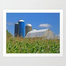 Almost Harvest Time Art Print