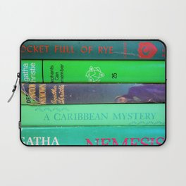 Agatha in Green Laptop Sleeve