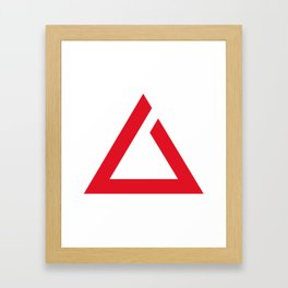 Witcher sign - IGNI Framed Art Print