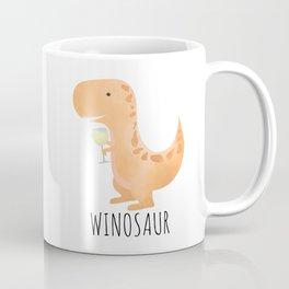 Winosaur | White Wine Coffee Mug