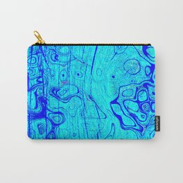 Abstract Oil on Water Carry-All Pouch