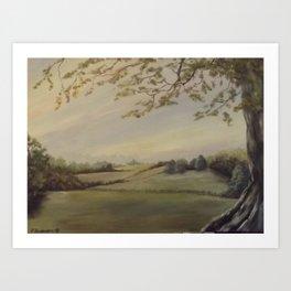 Blissful Meadow Art Print