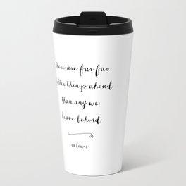 BETTER THINGS - B & W Travel Mug