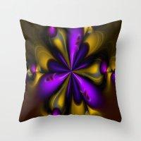 brazil Throw Pillows featuring Brazil by Imagevixen
