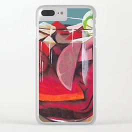 Fruit cocktail Clear iPhone Case