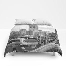 City Streets Comforters