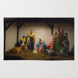 Nativity Scene Rug