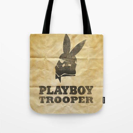 playboy trooper  Tote Bag