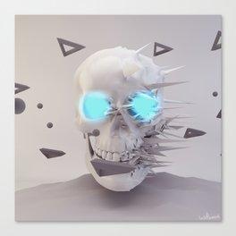 Skull Chaos Canvas Print