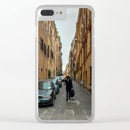In Rome do as the Romans do Clear iPhone Case