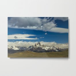 Fitz Roy in a summer day Metal Print