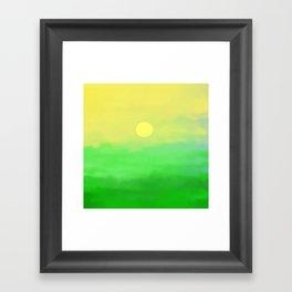 sommershirt Framed Art Print