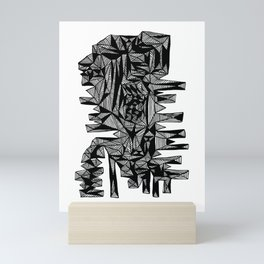 Sammy Abstract Mini Art Print