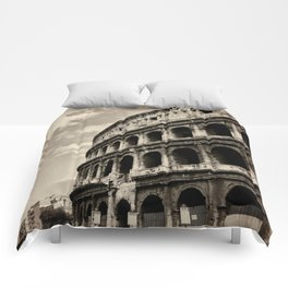 Il Colosseo Comforters