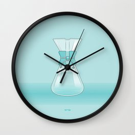 Coffee Maker Series - Chemex Wall Clock
