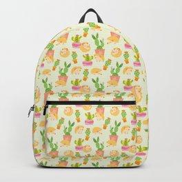 Little Pricks - Orange & Green Backpack