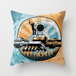 Set the Controls for the Heart of the Moon Throw Pillow