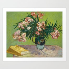 Oleanders by Vincent Van Gogh, 1888 Art Print
