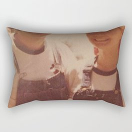 Mom and dad honeymoon Rectangular Pillow