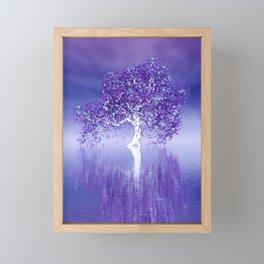 strange light somewhere -27- Framed Mini Art Print