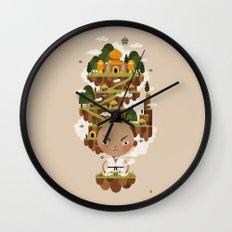 PRINCE POO'S PANNA Wall Clock