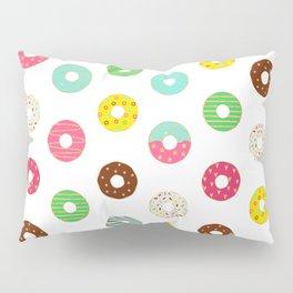 Donuts Seamless Pattern Pillow Sham