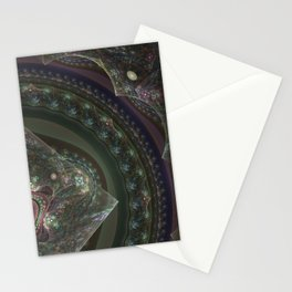 Center Squared by Knightengale Stationery Cards