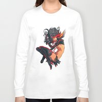 kill la kill Long Sleeve T-shirts featuring Kill La Kill by Mikuloctopus
