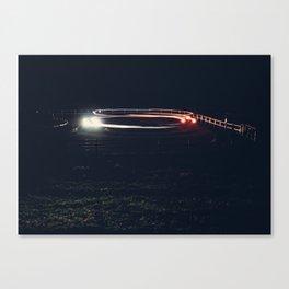 Car Lights Canvas Print