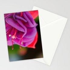 Dark Eyes Fuschia Stationery Cards