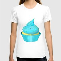 cupcake T-shirts featuring Cupcake by tiffato3