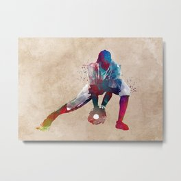 Baseball player 3 #baseball #sport Metal Print