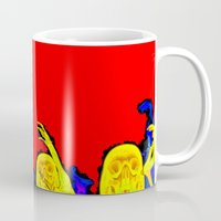 hell Mugs featuring Hell by Alec Goss