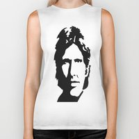 han solo Biker Tanks featuring HAN SOLO by Christina Arnold